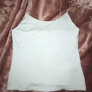 Tops - Light Blue Crop with straps